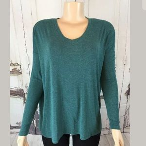 Cabi Green 3229 Green Relaxed oversized Tee